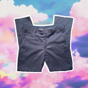 MENS JOHN RICHMOND DARK GREY DRESS PANTS